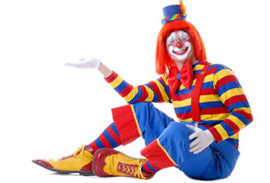 clown characters clipart of circus cartoon clowns characters